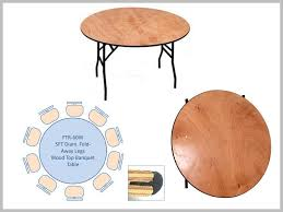 round table perfect for functions