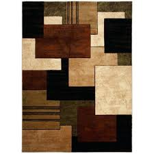 brown and green area rug sage green and brown rug