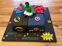Marvel comic cake includes captian america spidermad the hulk and wolverine scratching threw the marvel cake. Marvel Cake Cake By Littlelizacakes Cakesdecor