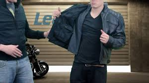 xelement throttle boss mens black leather jacket at leatherup you