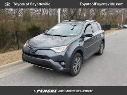 2017 Used Toyota RAV4 Hybrid XLE AWD at Toyota of Fayetteville ...