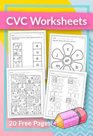 Itñññs easy with kiz phonics we offer carefully designed phonics worksheets, games, videos and flash cards you will find on our. Cvc Worksheets Free Word Work