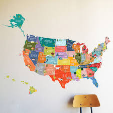 x primary popular wall decal usa