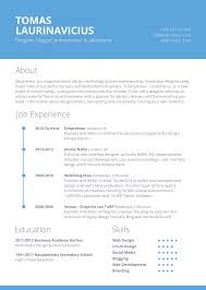 Free Resume With Photo Template 100 Resume Template Designs FreeCreatives 39
