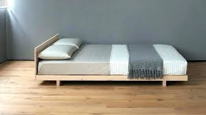 Japanese Roll Up Mattress Platform Bed Frame Roll Up N Mattress ...