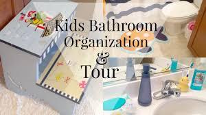 Kids Bathroom Bathroom Organization Kids Edition Diy Youtube