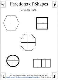 Second Grade Fractions Worksheets Worksheets for all | Download ...