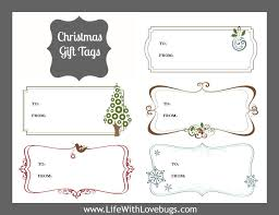 Avery Gift Tags Christmas Gift Tags Printable Life With Lovebugs