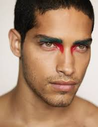 futuristic makeup men google search