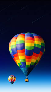 nice-colored-hot-air-balloon Android ...