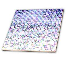 Mosaic Design Amazon Com 3drose David Zydd Square Backgrounds Blue