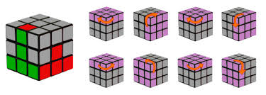 Rubik's Cube Pattern To Solve Fascinating Step 48 The Second Layer Of The Rubik's Cube