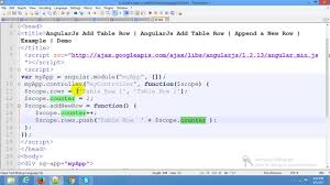 Adding Grids To Windows Angularjs Adding New Rows Dynamically Table Row Angularjs Ui
