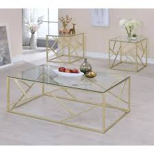 glass accent tables coffee table