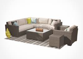 Crate And Barrell Coffee Table Crate And Barrel Ventura Lounge Collection Set I 3d Model Max