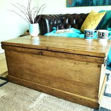 coffee table with blanket storage medium size of end trunk storage chest tool pine blanket box
