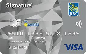 Rbc Avion Points Redemption Chart Earn Rewards Points Faster With The Signature Rbc Rewards Visa Credit Card