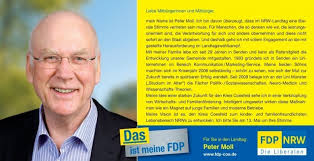 Peter Moll - FDP im Kreis Coesfeld
