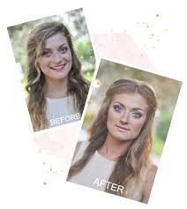before and after emma collins beauty makeup trial