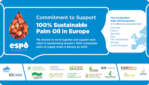 the commitment to support was initiated by idh the sustainable trade initiative and mvo the netherlands oils and fats industry who united in the european