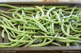 Asian Roasted Sesame Green Beans