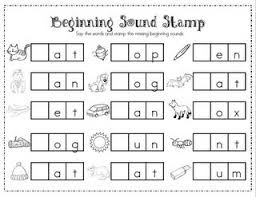 Alphabet, Stamps and Middle on Pinterestbeginning sounds and middle sounds worksheets - Mrs. Ricca's Kindergarten: Literacy Center Freebie