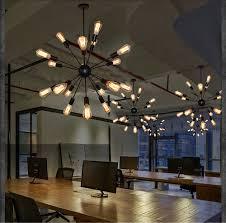 industrial loft lighting. Vintage-Edison-Chandelier-Industrial-Loft-Retro-Light-12- Industrial Loft Lighting