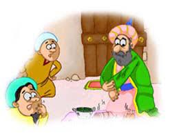Image result for لباس سوراخ شده ملا نصر الدین