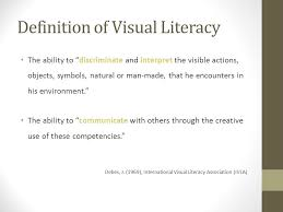 Visual Literacy Definitions What Does Visual Literacy Mean