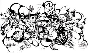 Small Picture Graffiti Coloring Pages Ppinewsco