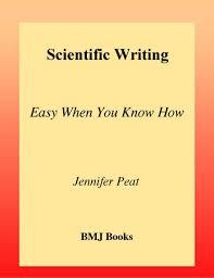 Scientific Writing Scientific Writing