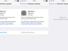 Ios 9 Features Update Advice Ios 9 3 4 Security Fix