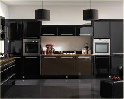 Kitchen Colors Black Appliances Kitchen Ideas With Black Appliances Black Wood Laminated Floor