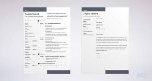 Resume Cover Letter Email Apa Example Template For Job Application