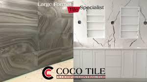 large format tile benefits