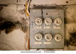 home fuse box stock images, royalty free images & vectors Old Fuse Box Trip Switch old fuse box in an old abandoned house Main Fuse Box House