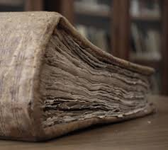 the rough deckle edge mon to books made prior to the 19th century