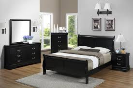 Philip Black Queen Bedroom Set Katy Furniture