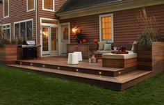 patio deck lighting ideas. Deck Lighting Ideas With Brilliant Results Patio