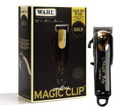 Tông đơ cắt tóc chuyên nghiệp wahl magic clip cordless màu đen - Máy cạo râu  Nhãn hiệu WAHL