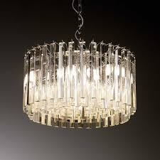 glass drop chandelier andy thornton intended for elegant property glass drop chandelier prepare