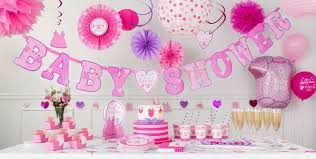 it s a girl baby shower decorations party city canada