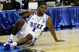 It's nice to have at least one thing in common :) that aside, one memory of him immediately comes to mind. Duke Basketball Three Injuries Blue Devil Fans Will Never Be Able To Forget Page 3