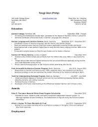 Double Major On Resume Prepossessing Resume How To Write Double