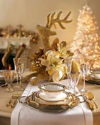 Choosing Lovely Ideas for Christmas Banquet Table Decorations : Elegant Christmas  Table Decoration Ideas With Cutlery