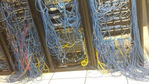 office cable management. NSFMR(Lack Of) Cable Management In Server Room At Local HP Office. Office E