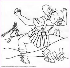 Small Picture david and goliath coloring pages Print Version of David and