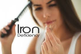 iron deficiency effects on women s hair