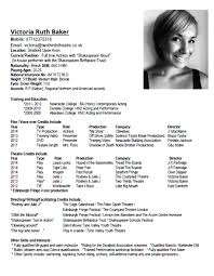 Acting Cv Template 7 Discover China Townsf