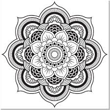 Small Picture Kaleidoscope Coloring Pages Best Within glumme